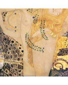 Klimt - Water Serpents Otterbox Defender Pixel Skin