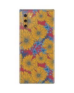 Bright Fall Flowers Galaxy Note 10 Skin