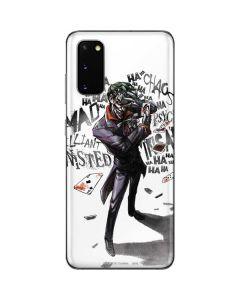 Brilliantly Twisted - The Joker Galaxy S20 Skin