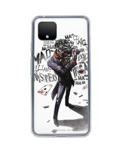 Brilliantly Twisted - The Joker Google Pixel 4 Clear Case