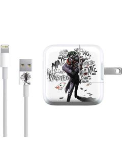 Brilliantly Twisted - The Joker iPad Charger (10W USB) Skin