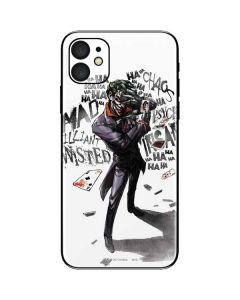 Brilliantly Twisted - The Joker iPhone 11 Skin