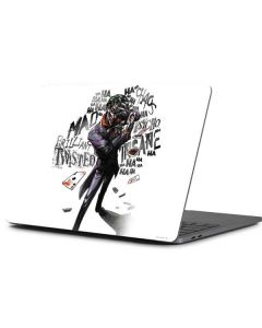 Brilliantly Twisted - The Joker Apple MacBook Pro 13-inch Skin