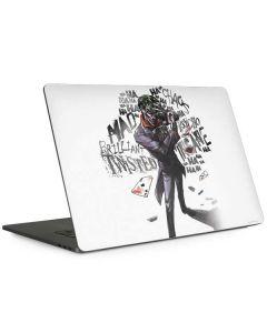 Brilliantly Twisted - The Joker Apple MacBook Pro 15-inch Skin