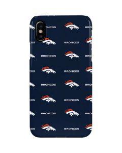 Denver Broncos Blitz Series iPhone XS Max Lite Case