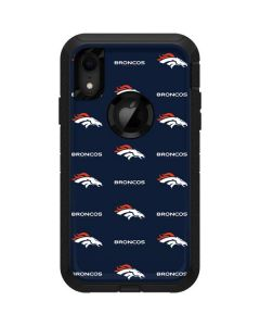 Denver Broncos Blitz Series Otterbox Defender iPhone Skin