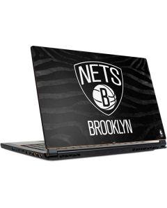 Brooklyn Nets Black Animal Print MSI GS65 Stealth Laptop Skin