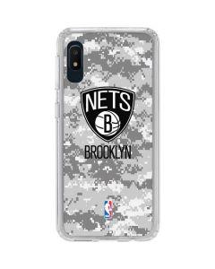 Brooklyn Nets Digi Camo Galaxy A10e Clear Case