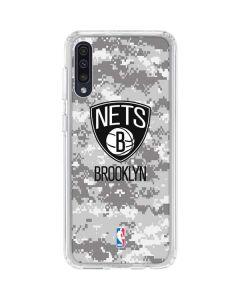 Brooklyn Nets Digi Camo Galaxy A50 Clear Case