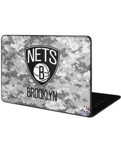Brooklyn Nets Digi Camo Google Pixelbook Go Skin
