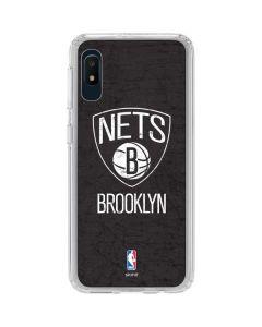 Brooklyn Nets Distressed Galaxy A10e Clear Case
