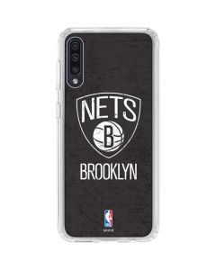 Brooklyn Nets Distressed Galaxy A50 Clear Case