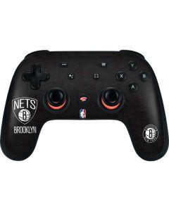 Brooklyn Nets Distressed Google Stadia Controller Skin