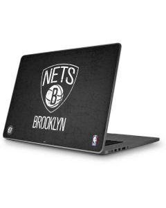 Brooklyn Nets Distressed Apple MacBook Pro 17-inch Skin
