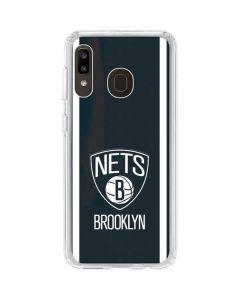 Brooklyn Nets Jersey Galaxy A20 Clear Case