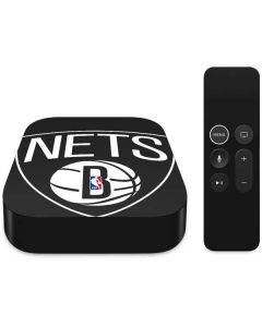 Brooklyn Nets Large Logo Apple TV Skin