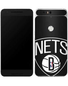 Brooklyn Nets Large Logo Google Nexus 6P Skin