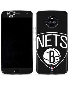 Brooklyn Nets Large Logo Moto X4 Skin