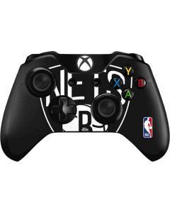 Brooklyn Nets Large Logo Xbox One Controller Skin