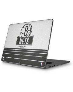 Brooklyn Nets Static Apple MacBook Pro 17-inch Skin