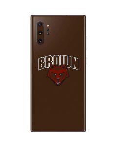 Brown University Bears Galaxy Note 10 Plus Skin