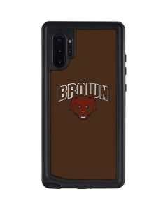 Brown University Bears Galaxy Note 10 Plus Waterproof Case