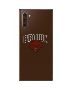 Brown University Bears Galaxy Note 10 Skin