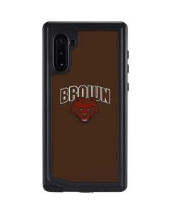 Brown University Bears Galaxy Note 10 Waterproof Case