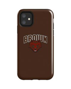 Brown University Bears iPhone 11 Impact Case