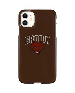 Brown University Bears iPhone 11 Lite Case
