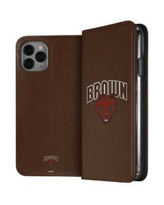 Brown University Bears iPhone 11 Pro Folio Case