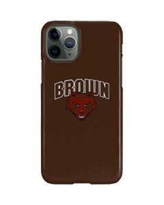 Brown University Bears iPhone 11 Pro Lite Case