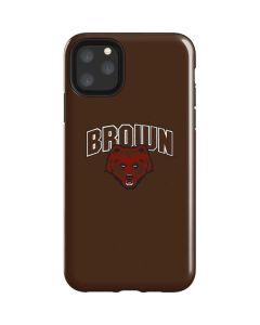 Brown University Bears iPhone 11 Pro Max Impact Case