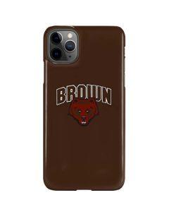 Brown University Bears iPhone 11 Pro Max Lite Case