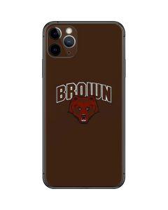 Brown University Bears iPhone 11 Pro Max Skin