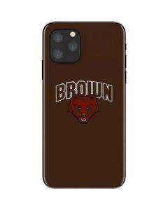 Brown University Bears iPhone 11 Pro Skin