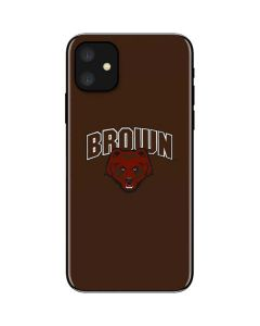 Brown University Bears iPhone 11 Skin