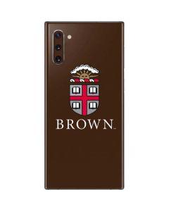 Brown University Galaxy Note 10 Skin