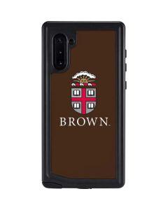 Brown University Galaxy Note 10 Waterproof Case