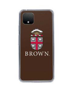Brown University Google Pixel 4 Clear Case
