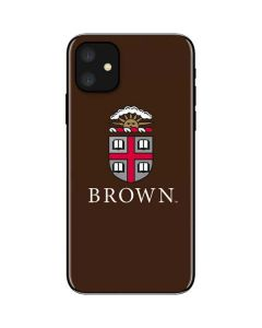 Brown University iPhone 11 Skin