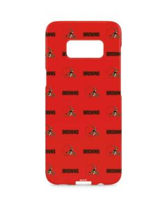 Cleveland Browns Blitz Series Galaxy S8 Plus Lite Case