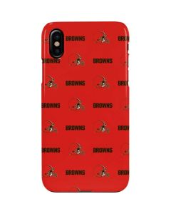 Cleveland Browns Blitz Series iPhone XS Max Lite Case