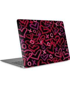 Brush Love Apple MacBook Air Skin