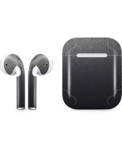 Brushed Steel Texture Apple AirPods Skin