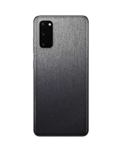 Brushed Steel Texture Galaxy S20 Skin