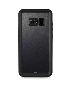 Brushed Steel Texture Galaxy S8 Plus Waterproof Case