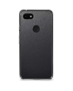 Brushed Steel Texture Google Pixel 3a Clear Case