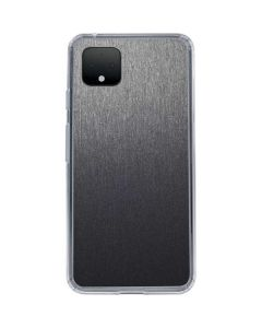 Brushed Steel Texture Google Pixel 4 Clear Case