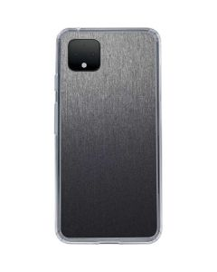 Brushed Steel Texture Google Pixel 4 XL Clear Case